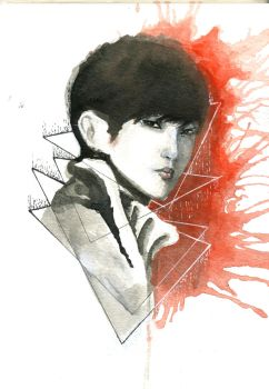 B1A4 Jinyoung by minvisible
