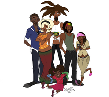 Palmer Family by ReggaeCyp