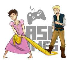 Xander and Chase Play Tangled - XaseGames by XanderComicsInc