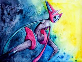 Deoxys- Speed by candid-silence