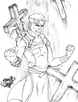 Commission: Richter Belmont by Pltnm06Ghost