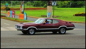 1970 Oldsmobile Cutlass 4-4-2 by Mister-Lou