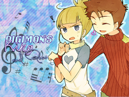 CD: Digimon's King and Queen by juny-lee