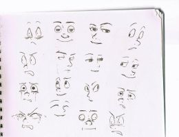 Faces by Riocakes