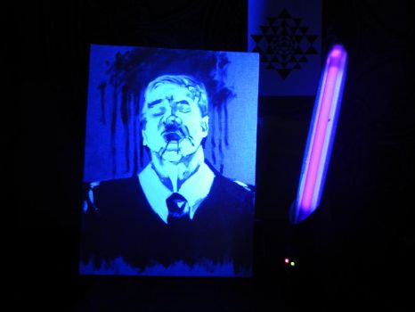 Blacklight art again by DI-N