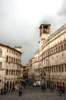 Thundery Perugia by johnwaymont
