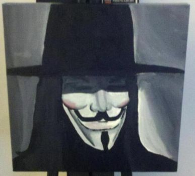 v for vendetta by evilmastermindmrj