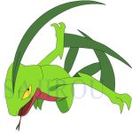 Grovyle, He's coming for you. by Sajirou