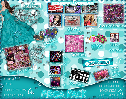 +Mega Pack (Los loveo) -Josefina. by SoHappilyDream