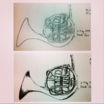 French Horn by ForgottenUmbrella