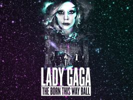 BornThisWayBall Wallpaper STARS by anoanoanoano