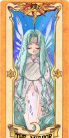 Clow Card -The Mirror- Colored by RenjiAbaraiGR