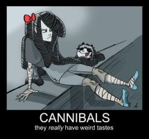 CANNIBALS by batlesbo
