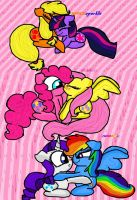 my little pony love is magic by MLPFIMFAN2011