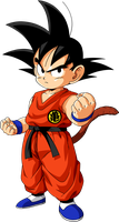 Dragon Ball - kid Goku 21 by superjmanplay2