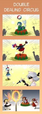 Double Dealing Circus by miwol