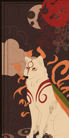Okami Bookmark by cdblue