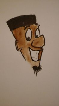 Me as Hanna-Barbera style by Ply20