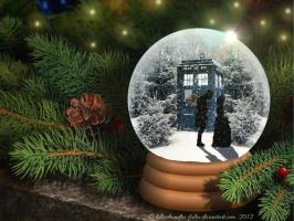 Doctor Who Snow Globe - 2012 by killashandra-falta
