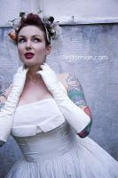 Nice Day For A White Wedding 2 by Tindermann