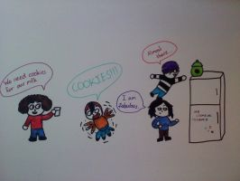 My chemical romance Cookie Mission by BunnyWithLasers