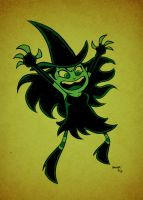 A Wicked Witch by thecheckeredman