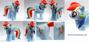 Rainbow Dash for sale by Zorza-6