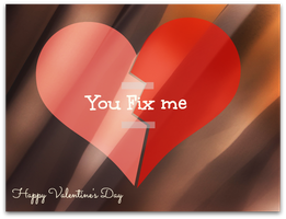 You Fix Me - Valentine by jhjjhg1