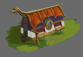 Viking house concept by Sheym