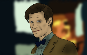 Doctor Who 7x04 - Reink, Recolor, Reshade, BG by IronyProductions