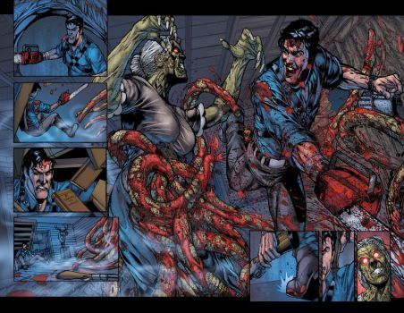 Army of Darkness 7 p2-3 by BlondTheColorist