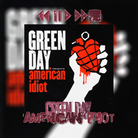 CD|American Idiot|Green Day by NeverStopBelieve