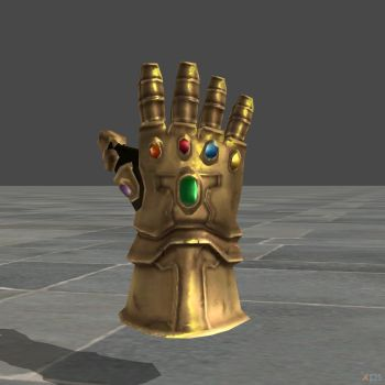 Infinity Gauntlet OBJ and XNA by SSingh511