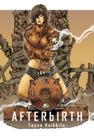 AFTERbIRTH book cover 1 by TeuvoH
