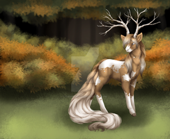 Autumn Forest Sprite by ClemiKinkajou
