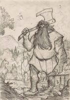 THE HOBBIT by Denis Medri - BEORN by DenisM79