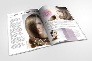 The hair magazine by Lemongraphic