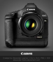 CANON EOS 1Ds Mark III by AlexanderLoginov