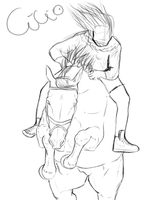 Show Entry - Sketch :WIP: by Horse-Emotion