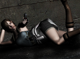 jill valentine - wallpaper by AR-0
