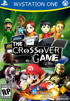 The Crossover Game: Boxart by LeeHatake93