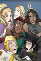 Leylines Group Shot by TheDelphina