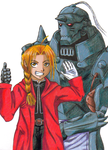 The Elric Brothers by D1g1m0ncrazy