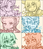 PP - holiday chibi batch 2 by keiizen