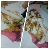 WIP: MERMAID by deyenyen