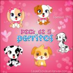 Pack de 5 Perritos .PNG by LauraClover