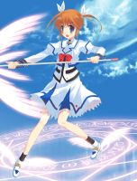 nanoha by JOEIAN