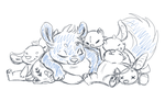 precious plushies (everything ych auction (Closed) by mydlas