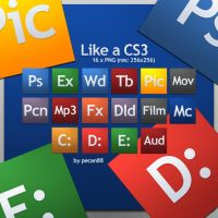 Like_a_CS3_icon_pack by pecan88