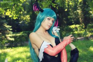 Morrigan Aensland by Zyaaa